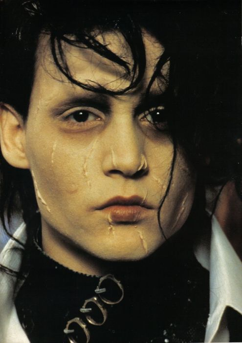 Johnny in Edward Scissorhands. So beautiful.   I love this film role and the actor was cash in 100% prefect