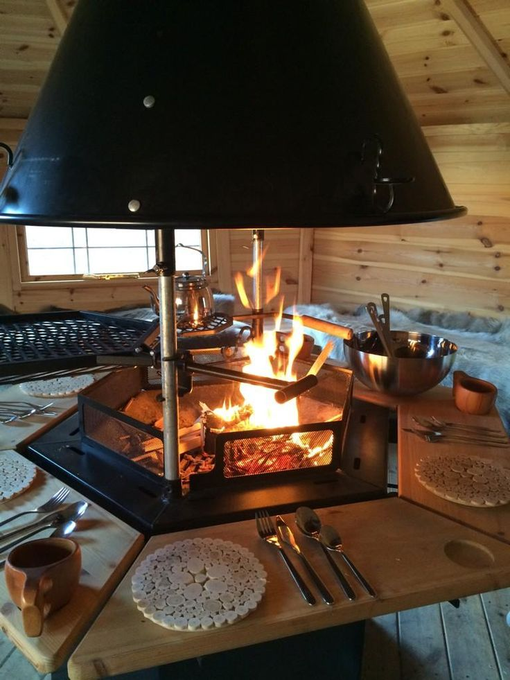 Roaring fire - perfect for a chilly autumn day!