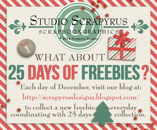 Scrapyrus Designs is handing out presents !