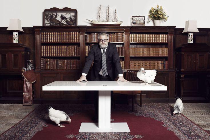 Grande MILK - Bordplade mål: 180x82 cm. Working desk, arbejdsbord, skrivebord