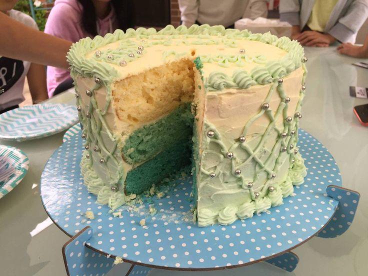 DIY:: Triple Layer Ombre Cake