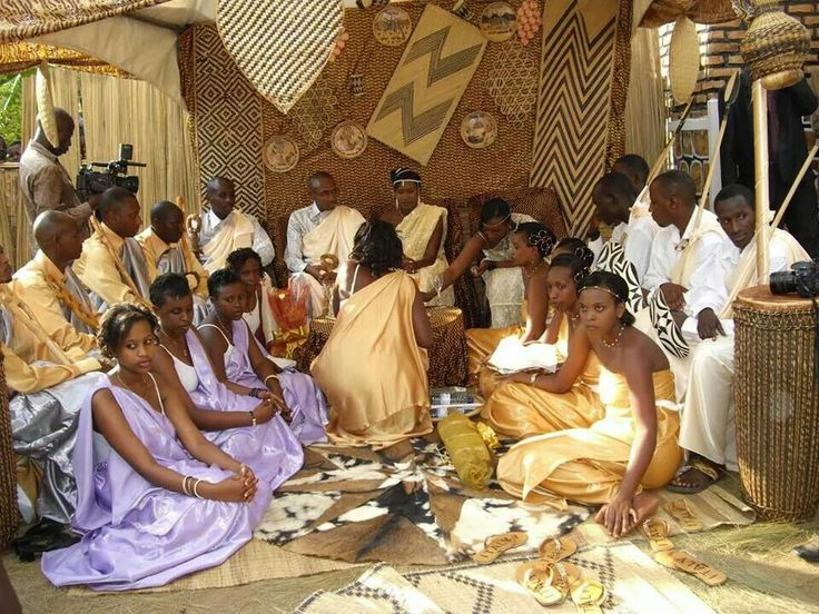 Rwandan Traditional Wedding Ceremony SourcePinterest