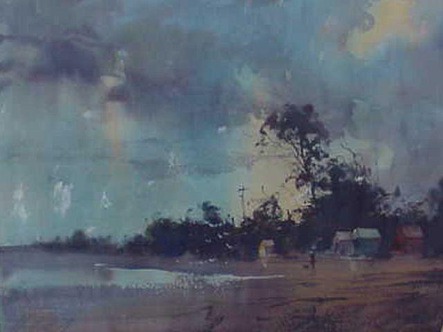 Herman Pekel Watercolor Google Search Landscape