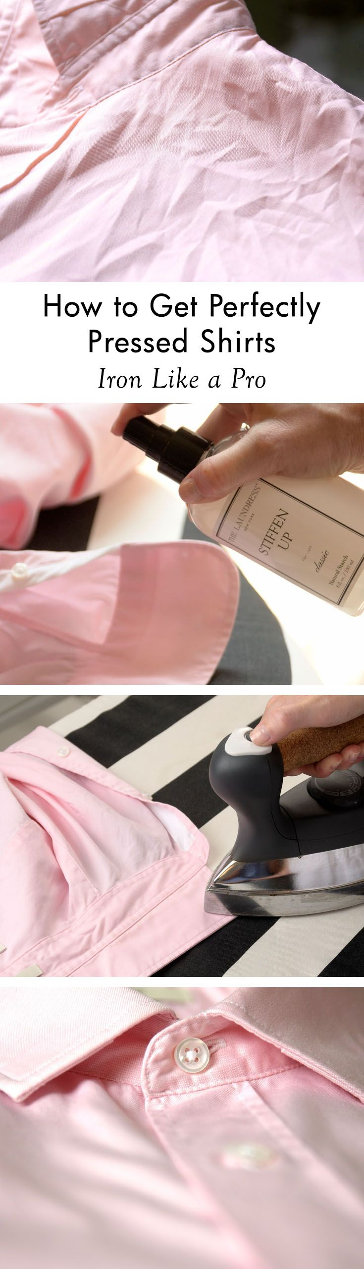 Learn how to iron like a pro with expert tips for perfectly pressed shirts, pants, linens, and even silk!