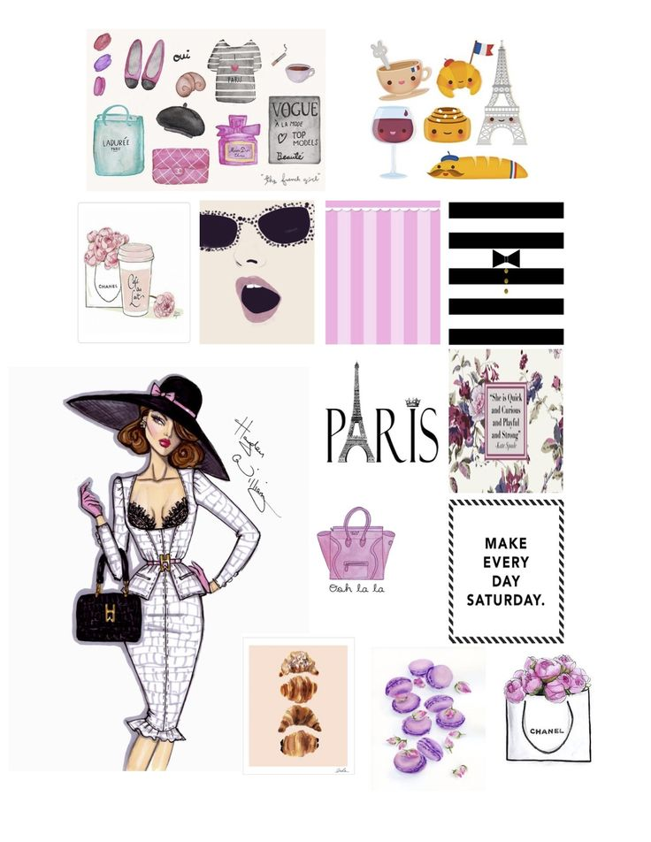 Paris Planner Stickers #PlanWithSummer #SummerKellsey Erin Condren Life Planner
