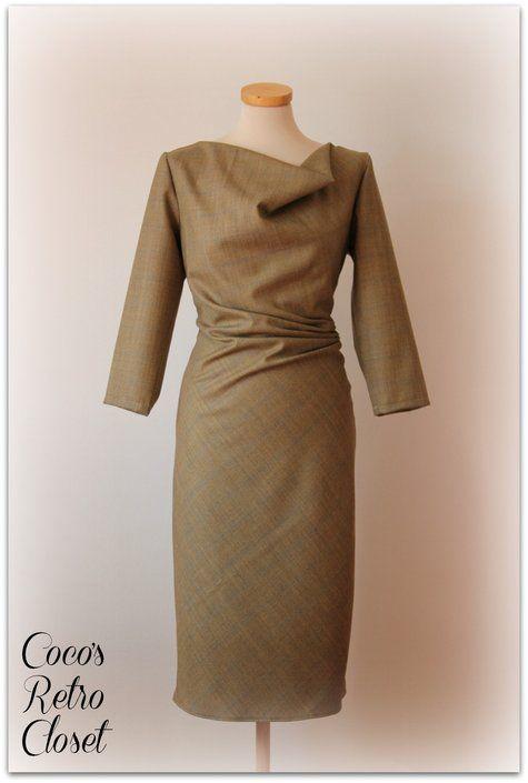 Cowl Dress Burda Oct 2012 #118A