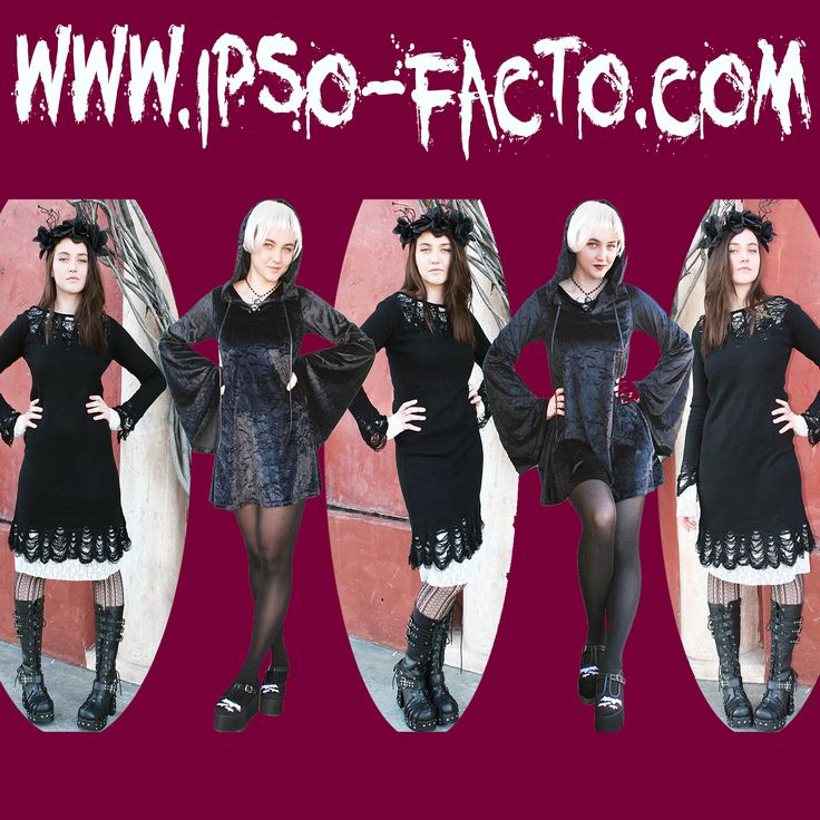 Here are some cool shots from today's photo shoot with Ruth Aul featuring some Ipso Facto fashions by Killstar and Demonia. All items available at www.ipso-facto.com and our Fullerton, CA store. Photos: Terri Kennedy