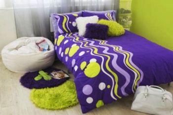 Teen Girl Bedding | TEEN GIRLS BEDDING BEDROOMS And DECORATING IDEAS PURPLE And LIMEhttp ...
