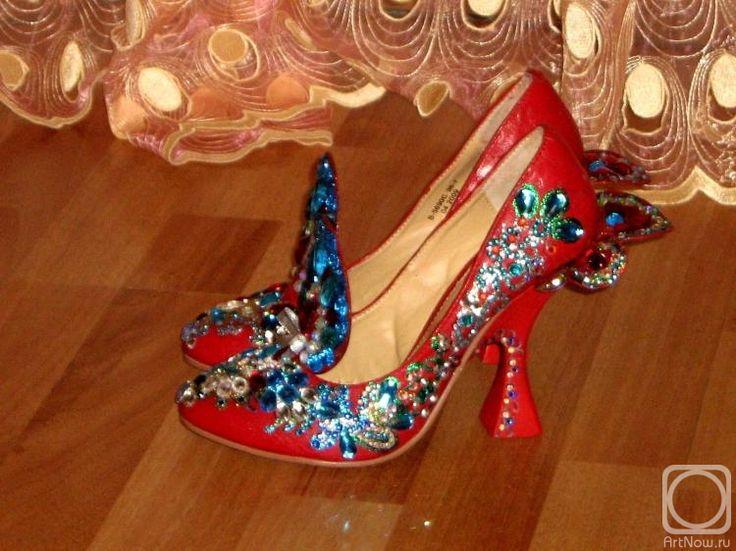 Красные черевички картинки
