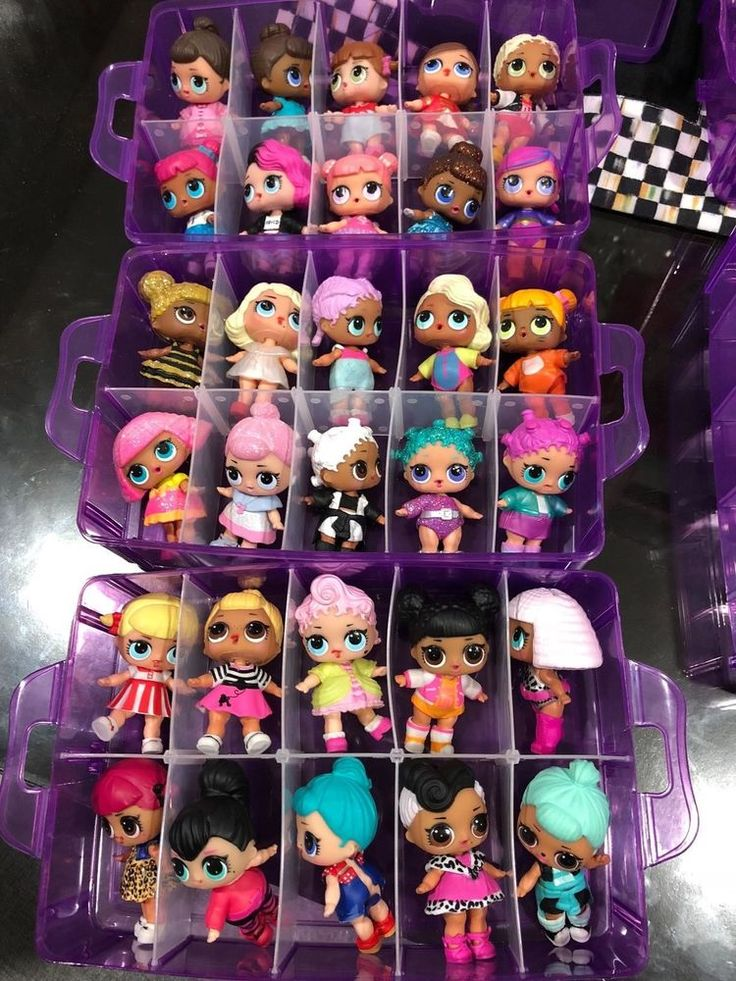 A perfect storage container for your LOL Surprise Dolls and Toys Collections. | … – Birthdays
