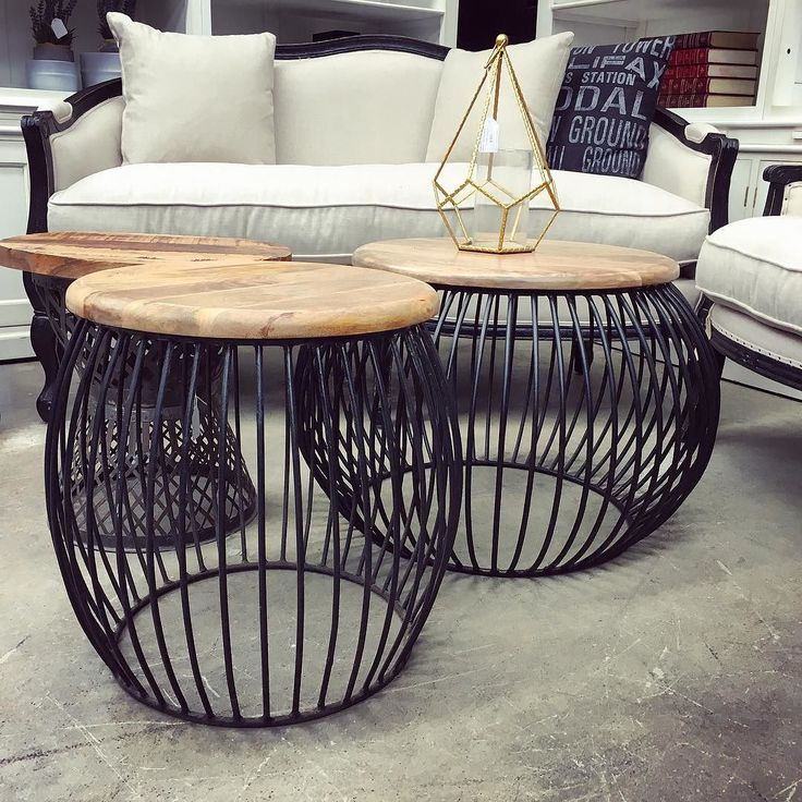 Industrial Coffee Table Nsw: Cabana Canalside Interiors' Cabana Coffee And Side Tables