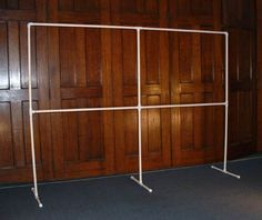 PVC Display Stand Or… if you're feeling a bit industrious, you can easily make a stole display stand out of PVC pipe and fittings for about $15.
