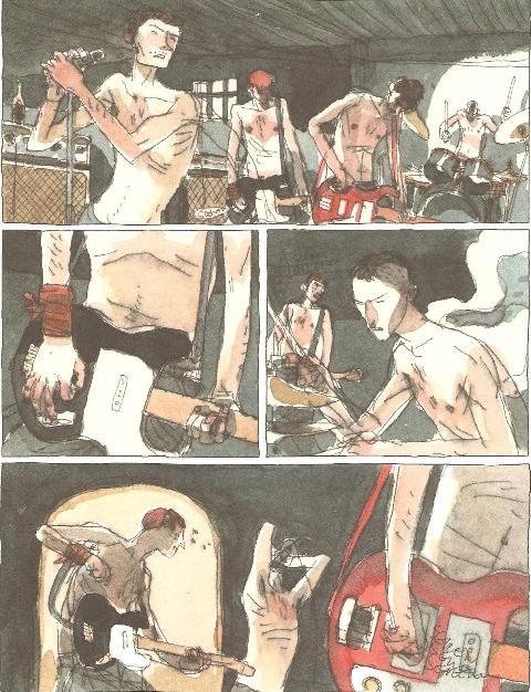 gipi (one of the best italian illustratosr ever)
