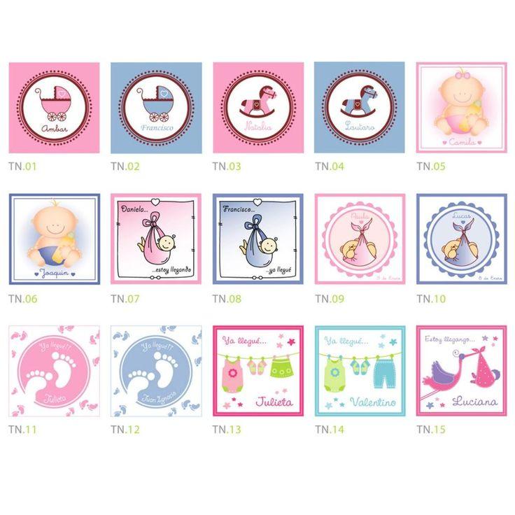 Tarjeta Souvenir Nacimiento Baby Shower Unidades Vvr Pictures