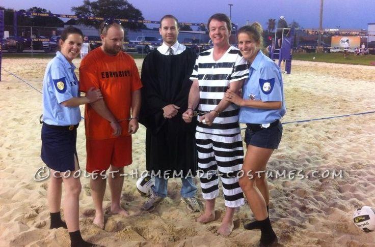 ... DIY Cops and Criminals Costumes... Coolest Halloween Costume Contest