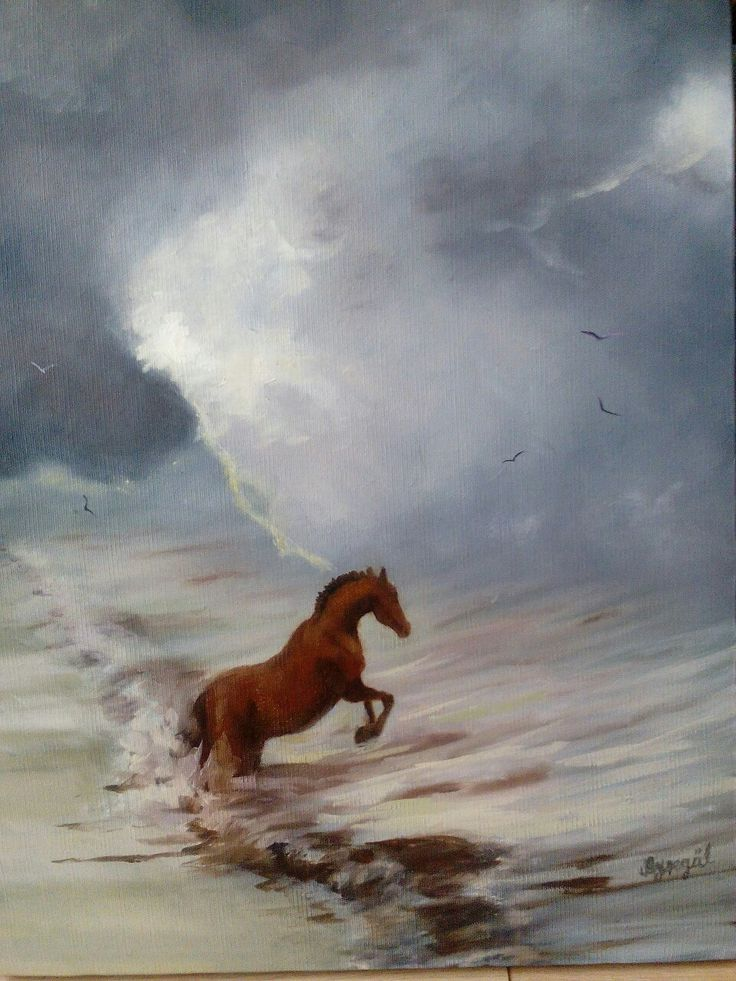 40*50 cm oil on canvas