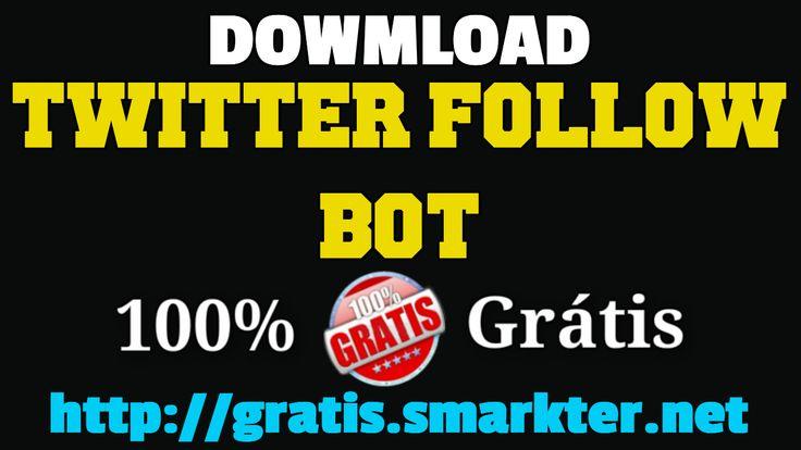 """Download Twitter Follow Bot Free    https://gratis.smarkter.net APRESENTA:    Twitter Follow Bot  Follow other user`s followers or followings!    Download: https://gratis.smarkter.net    ATENÇÃO: Este conteúdo não contem vírus, se, depois do download, o chrome bloquear o ficheiro vá a """"definições"""", """"transferências"""", localize-o e clique em """"recuperar ficheiro"""".    Antº Fradique    Skype: https://gratis.smarkter.net/skype  Web: https://web.smarkter.net  Telegram…"""