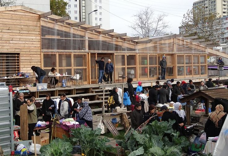 Urban Commons: The Agrocité project in the suburbs of Paris