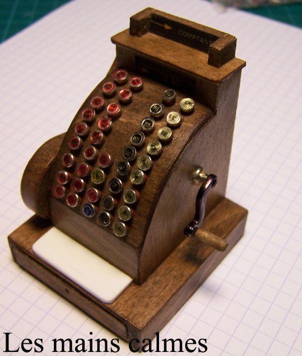 Old fashion cash register tutorial