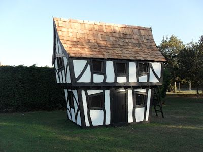 Crooked Tudor Playhouse - Enchanted Creations Playhouses & Treehouses