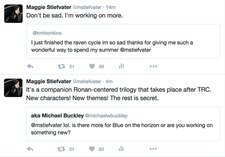 Contents of Maggie Stiefvater's Brain