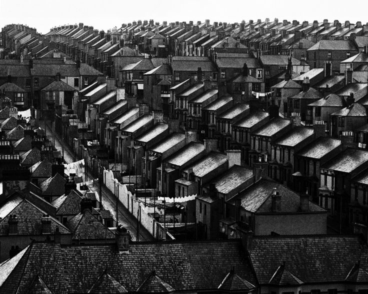 RAINSWEPT ROOFS, 1930S by BILL BRANDT (1904-1983)