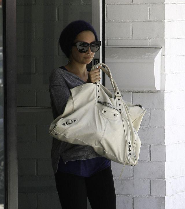 Balenciaga First Bag Grey