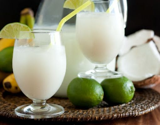 Coconut Milk Lemonade  #coconut #lemonade #drinks #tuzubiberi