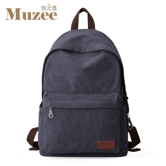 Fair price Muzee Canvas Backpack College Student School Backpack Bags Suit for 14 inch Computer and 1-3 Days Trip Backpack just only $22.40 with free shipping worldwide  #backpacksformen Plese click on picture to see our special price for you