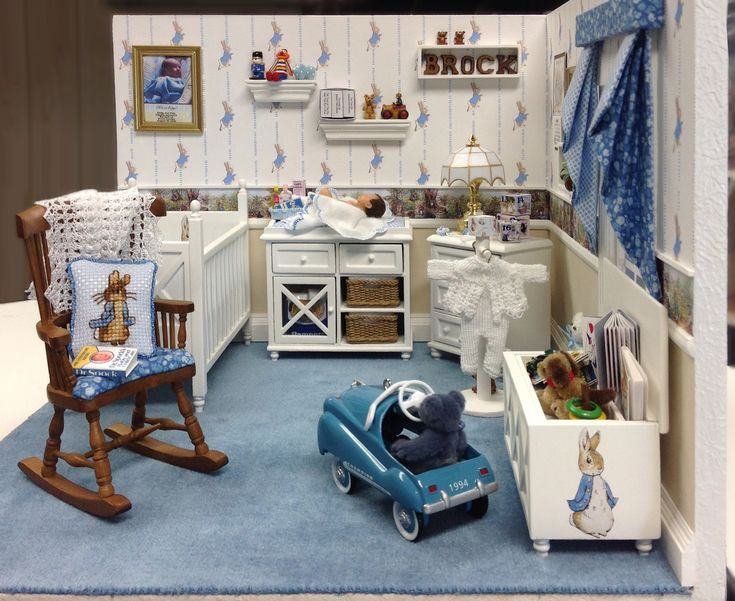 how to make a baby doll house