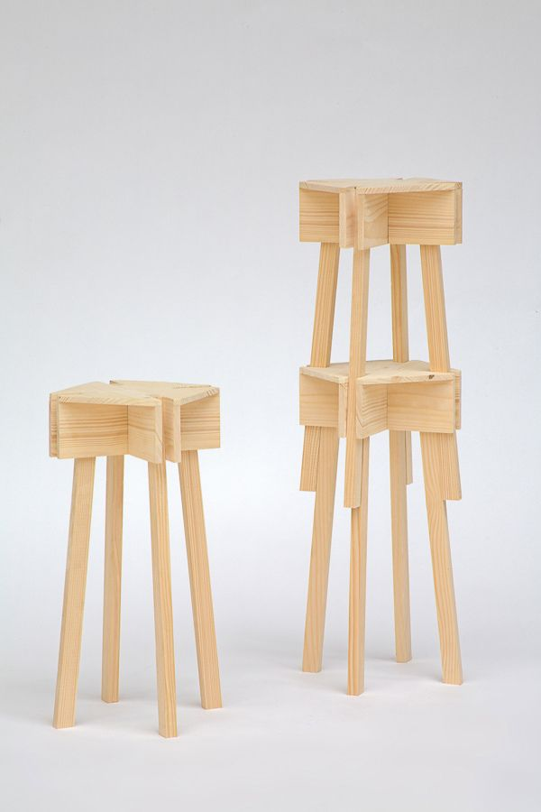 VAC STACKABLE STOOL 01 By Jean Charles Amey, Via Behance