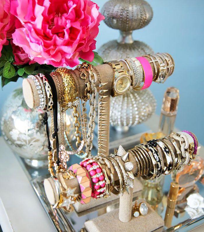 Best Jewelry Storage Images On Pinterest Jewelry Storage - Bangle bracelet storage ideas