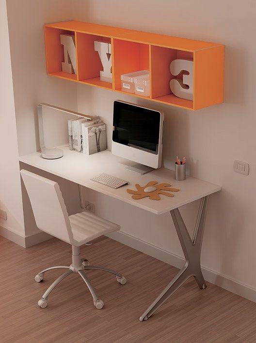 #desk #officespace #areadetrabajo #naranja #diseño #lonuevo #sak #shoparchkids #enlaoficina