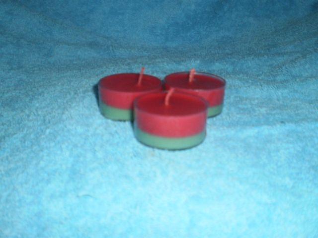 Cucumber Water tea lights $2 each