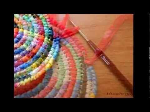 мастер-класс по вязанию сумочки из  полиэтиленовых пакетов
