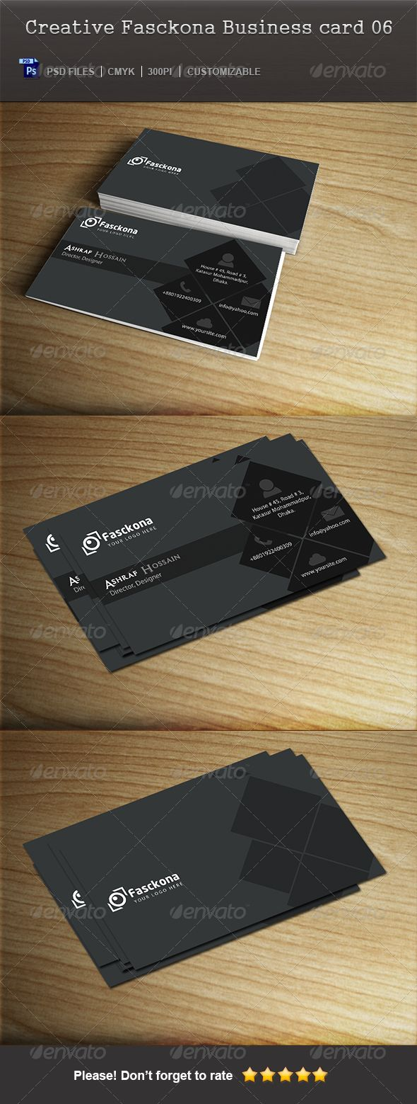 Creative Fasckona Business Card 06
