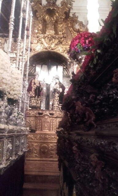 Semana Santa. Hermandad de los Servitas. Sevilla.