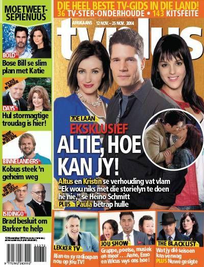 TV Plus Afrikaans. TV. Soaps. Gossip. Afrikaans.