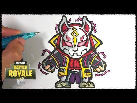 Comment Dessiner Le Nomade Max Fortnite Tuto Youtube Quick