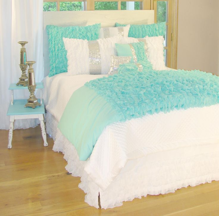 Tiffany Blue Bedroom Accessories Blue Jays Themed Bedroom Bedroom Bench Wood Soft Bedroom Colors: 17 Best Ideas About Tiffany Blue Bedding On Pinterest
