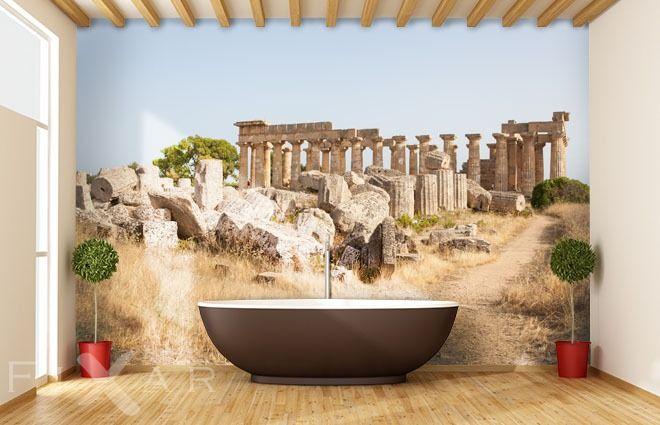 Die Ruinen des denkmalerischen Griechenlandes