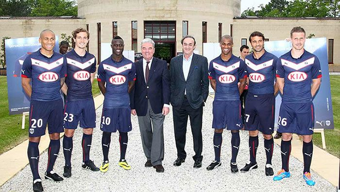 Nice Day Sports: French League Bordeaux 2014-2015 Puma Home Jersey ...