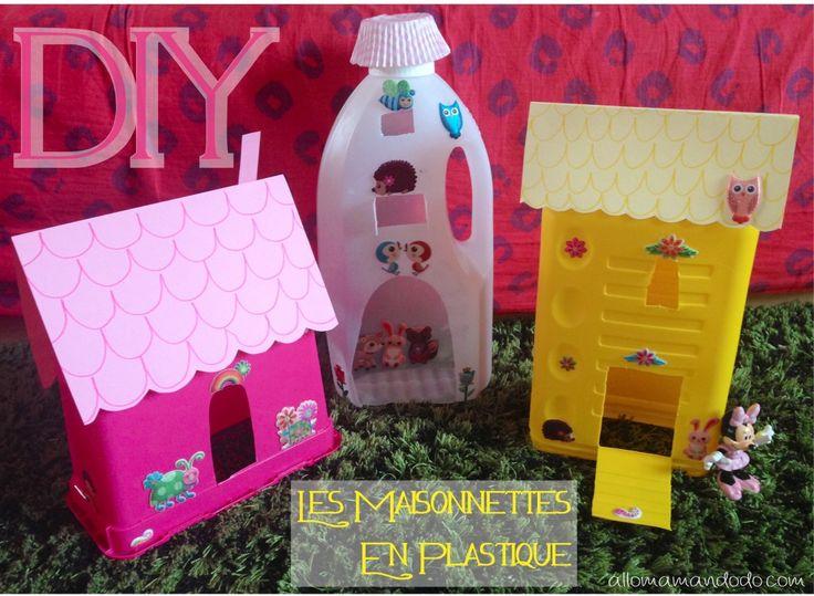 Les 51 meilleures images propos de bouteilles plastiques - Maison enfant en plastique ...