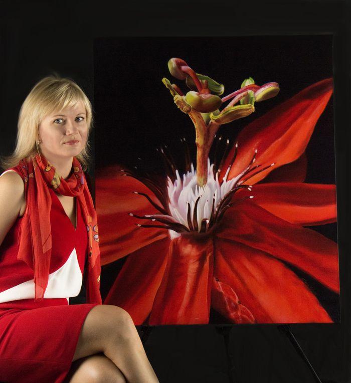 """Carousel of Joy"" - oil painting"