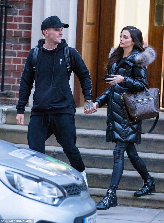 'The baby's bigger than normal': Gaz Beadle and his pregnant girlfriend Emma McVey were spotted making a visit to their midwife on Thursday, where the model was delivered some shocking news