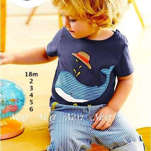dolphin celana stripe blue sc-15319