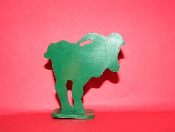Vintage Green Goat Game Piece Billy Goat Gruff by TheIDconnection, $5.00