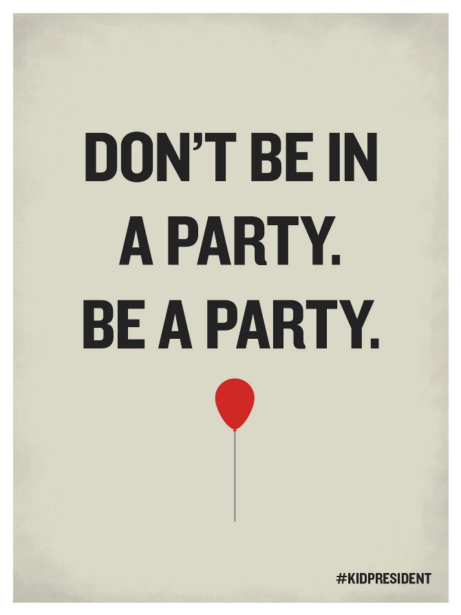 Be a party