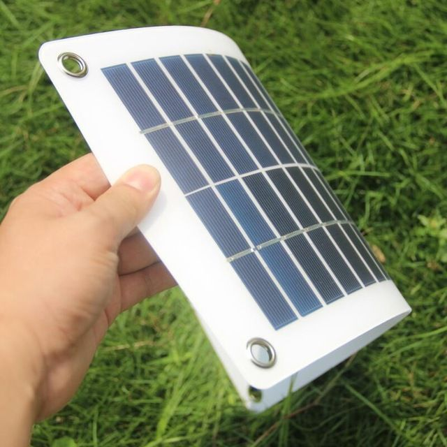 Buheshui 18v 10w Solar Cell Transparent Semi Flexible Polycrystalline Solar Panel Diy Outdoor Connector D Diy Solar Panel Solar Panels Solar Panels Information