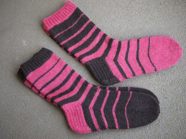 Pehmeitä paketteja: sukat